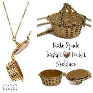 Kate Spade 🧺 Basket 12 KT Gold Plated Necklace